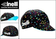 Cinelli Caleido macchie CICLISMO BIKE CAP-VINTAGE-attrezzi fissi-MADE IN ITALY