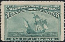 US SCOTT #232 - MNH - 3 cent 1893 Columbian Expo Issue