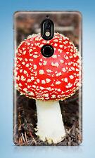 RED MUSHROOM PLANT #1 HARD CASE COVER FOR NOKIA LUMIA 530 730