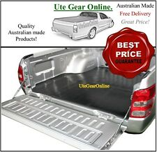Holden Rodeo Dual Cab Rubber Ute Tub Mat 1988 to 2002 - New