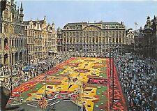 BG12130 grand place tapis de fleurs  bruxelles brussel  belgium