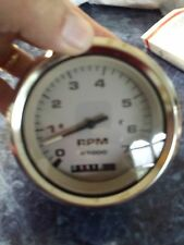 Johnson Boat Tachometer Tach with Hour Meter