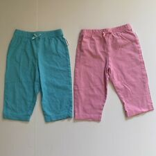 OnesieBrand Baby Girl Pink & Blue Stretch Pants Size 6-9 Months