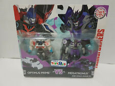 Optimus Prime vs. Megatronus Transformers Robots in Disguise Legion Class 2015