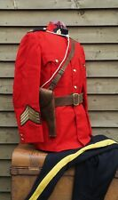 More details for 1980 - royal canadian mounted police - ceremonial uniform, belt & holster - rcmp
