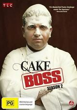 CAKE BOSS : SEASON 2 BRAND NEW 3DVD SET FREE POST! COOKING DVD...