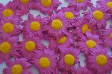 Sonnenblumen Blüten Tischdeko Streublumen Tischdekoration pink fuchsia