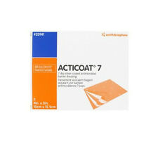 "Smith & Nephew ACTICOAT 7 Silver Antimicrobial Dressing 4"" x 5"", Box/5, # 20141"