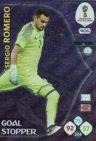 Panini Adrenalyn XL World Cup 2018 Russia WM Nr. 406 Goal Stopper Sergio Romero