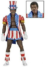 "Rocky 40th Anniversary 7"" Figure Series 2 Apollo w/ Uncle Sam hat - NECA"