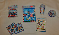 New Jay Jay The Jet Plane Party Supplies Napkins, Blowers, Loot Bags, Hats