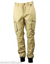 Eleven Paris Men's PYLOT Trousers Beige (EPJN007b)