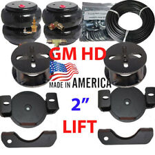"""2001-10 Chevy 2500 Towing Assist Over Load Air Bag Suspension 2"""" Lift Kit"""