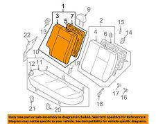Chevrolet GM OEM 07-08 Aveo5 Rear Seat-Back Assy Right 96669114