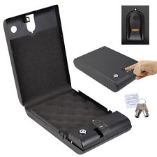 New Biometric 120 Fingerprint Electronic Digital Car Gun Security Box Lock US