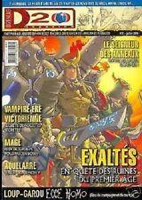 D20  MAGAZINE N°20 VAMPIRE SEIGNEURS DES ANNEAUX