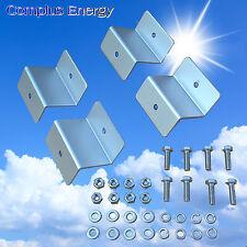 Quality Z Brackets Solar Mounting Kit 65mm Width