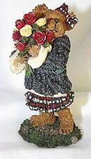 Boyds Resin Bearstone - Rosalie Bearheart .Love Is In The Air(Valentine'S Day)
