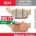 Plaquettes de frein Arrière TRW Lucas MCB 672 SH pour Honda SLR 650 (RD09) 97-98