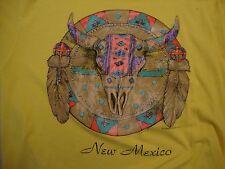 Vintage New Mexico Native American Indian Tribal Art Souvenir T Shirt Size L