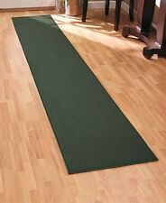 "60"" Green  Extra Long Nonslip Carpet Runner Entry Hallway Protection Home Decor"