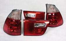 RÜCKLEUCHTEN RÜCKLICHTER SATZ BMW E53 X5 99-03 ROT KLAR RED CLEAR CRYSTAL NEU
