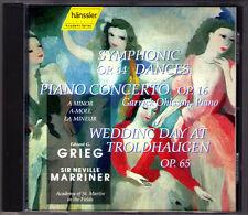 Garrick Ohlsson & Neville Marrier: Grieg piano concerto Symphonic Dance WEDDING