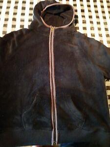Ladies Black Animal Fleece size 18