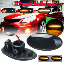 Dynamic LED Side Marker Indicator Light For Suzuki Swift Alto SX4 Jimmy Vitara