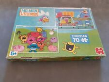 Mr Men And Little Miss 2x 70 Piece Jigsaw Puzzles By Jumbo 5+