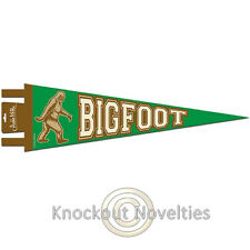 Bigfoot Pennant Wall Sasquatch Big Foot Monster Decoration Bedroom Super Fan
