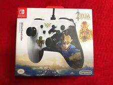 Ninendo Switch Legend of Zelda Breath of the Wild  Wired Controller PowerA RARE