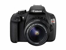 Canon EOS Rebel T5 18MP DSLR Camera With 18-55mm DC III Lens  ™