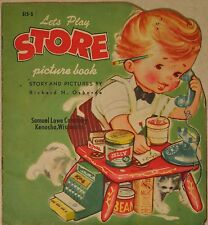 LET'S  PLAY STORE picture book 1951