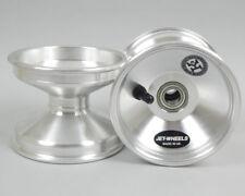 Jet Wheel Front Silver 100mm  x 1 UK KART STORE