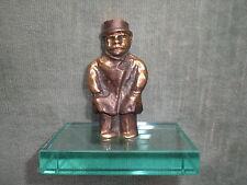 Franz Borghese (Rom 1941 - 2005) Mini-Skulptur Bronze von Spiral Arte