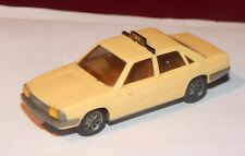 WIKING, AUDI 100 GL TAXI, ECHELLE HO, MADE IN GERMANY, 1/87
