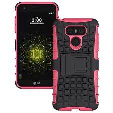 Etui Hybride 2 pièces Extérieur Rose pour LG G6 H870 étui Housse coque Neuf