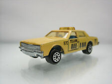 Diecast Majorette Chevrolet Impala Yellow Cab No. 240 Yellow Very Good Condition