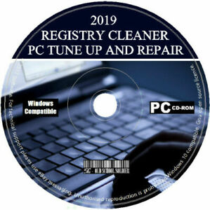 Pro Registry Cleaner 2021 PC Tuneup Repair Errors Free Disk Space Security Soft