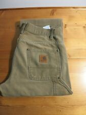 "Mens Vintage Carhartt ""Logger Pant"" Carpenter Jeans - Size 34x32"