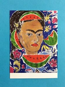 Stefan Szczesny - Frida Kahlo (1991) Portrait Art Kunst: Postkarte Postcard 1991