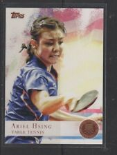 ARIEL HSING - 2012 OLYMPICS TABLE TENNIS - BRONZE MEDAL - TOPPS #75