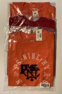 Aeropostale  PS Nine N.Y. NWT Size 5 Kids T Shirt-Set Of 3 Orange And Red