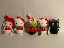Hallmark Itty Bittys Holiday Sanrio Hello Kitty Set of 5