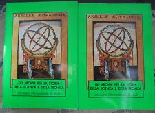 GLI ARCHIVI PER LA STORIA DELLA SCIENZA E DELLA TECNICA VOL.1 + 2 - ROMA 1995