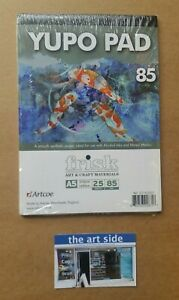NEW YUPO Synthetic Painting Paper - 85gsm - A5 A4 A3 - 10 Sheets or 25 Sheets