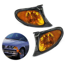 Park Signal Corner Amber Yellow Lens Cover Light For BMW 3 Series E46 02-05 Best