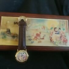 "DISNEY SNOW WHITE COLLECTORS WATCH ""SOMEDAY MY PRINCE WILL COME"" LIMITED EDITION"