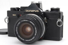 【EXC+++++】 Olympus OM-2 Black Body W/ Zuiko AUTO-W 28mm f/3.5 from Japan #c066
